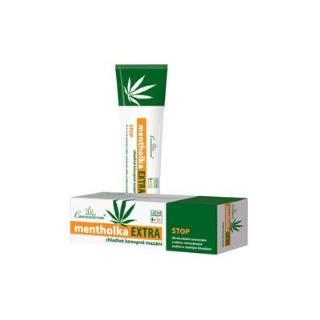 Cannaderm Mentholka EXTRA chladivý masážny gél 150 ml