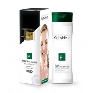 FLUID Konopná umývacia a sprchová emulzia 200 ml