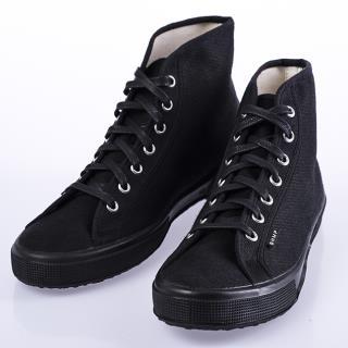 Čierne vysoké tenisky