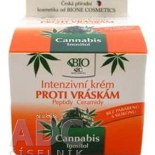Cannabis Bio intenzívny krém proti vráskam 51 g