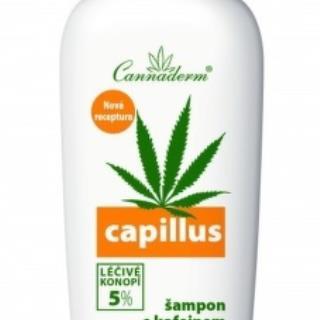 Cannaderm CAPILLUS šampón s kofeínom NEW
