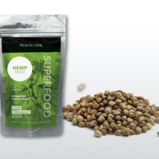 HEALTH LINK BIO RAW konopné semienka lúpané 100g