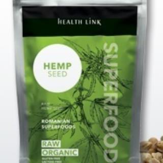 HEALTH LINK BIO RAW konopné semienka lúpané 250g