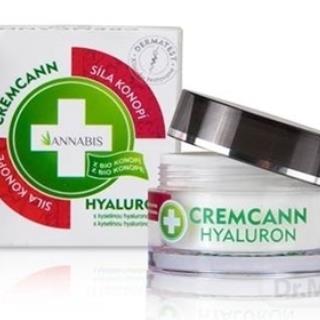 ANNABIS CREMCANN HYALURON hydratačný pleťový krém, Anti-age repair 1x50 ml
