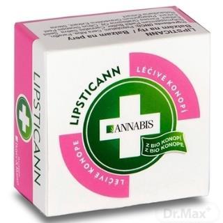 ANNABIS LIPSTICANN balzam na pery z BIO konope 1x15 ml