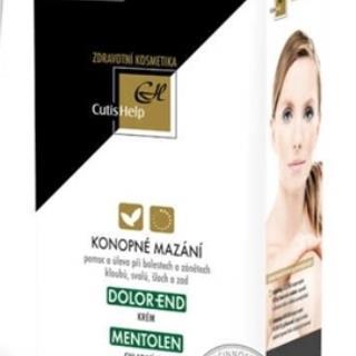 CutisHelp DOLOR-END + MENTOLEN konopné mazanie (crm 75 ml + gel 200 ml) 1x1 set