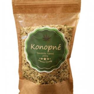 Konopné semienká lúpané 1x250 g