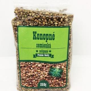Konopné semienká nelúpané celé SR 1x250 g