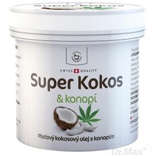 SUPER KOKOS & konope pleťový olej 1x150 ml