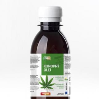 VIRDE KONOPNÝ OLEJ rastlinný olej z konopných semien 1x200 ml