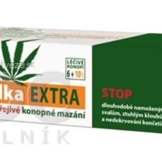 Cannaderm THERMOLKA EXTRA hrejivé konopné mazanie 1x150 ml