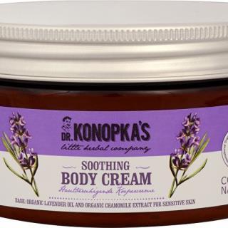 DR. KONOPKA - Zjemňujúci telový krém na citlivú pokožku - 300 ml