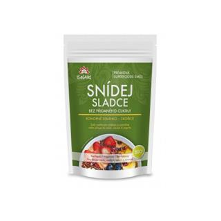 BIO Bezlepkový ovos naklíčený (konopné semienko-škorica) 360 g