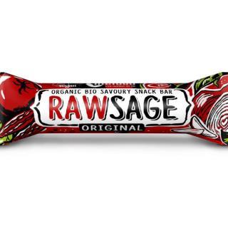 Bio tyčinka Rawsage original - snack bar pikantné 25g