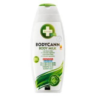 Bodycann prírodné telové mlieko 250 ml