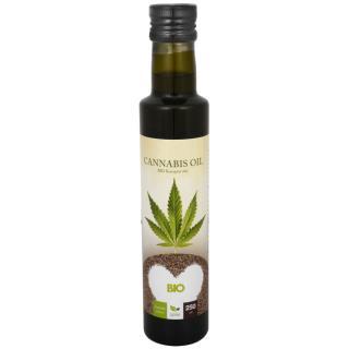 Cannabis oil - BIO Konopný olej 250 ml