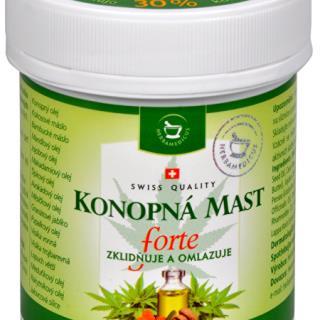 Konopná masť FORTE 125 ml