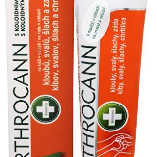 Arthrocann - gél z konope s koloidným striebrom na kĺby, svaly, šľachy 75 ml
