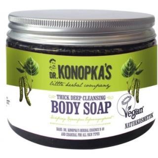 Dr.Konopka´S - Hĺbkovo čistiace husté telové mydlo