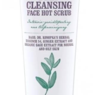 Dr.Konopka´S - Teplý hĺbkovo čistiaci pleťový peeling