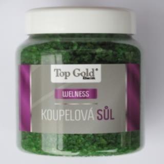 Top Gold Konopná kúpeľová soľ 1x450 g