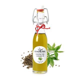 100% panenský Konopný olej z ekologického poľnohospodárstva