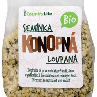 Bio Konopné semienko lúpané 100 g