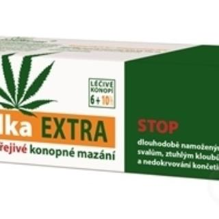 THERMOLKA EXTRA hrejivé konopné mazanie 1x150 ml