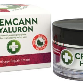 Cremcann Hyaluron - prírodný pleťový krém proti vráskam 50 ml