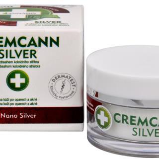 Cremcann Silver - konopný krém na kožu na opary a akné prírodné 15 ml