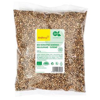 Konopné semienko nelúpanej BIO 500 g